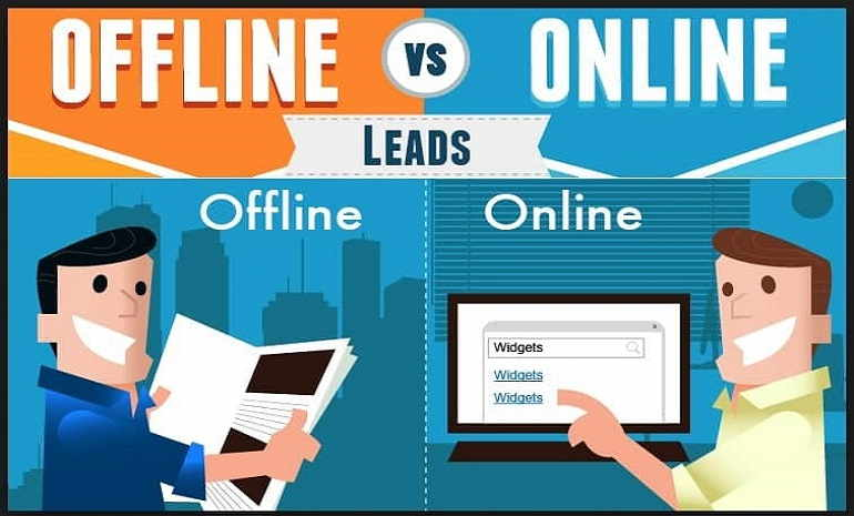 Differenze fra la creazione del Network Marketing business online - offline